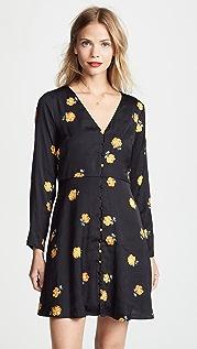 Madewell Платье в стиле ретро с цветочным рисунком
