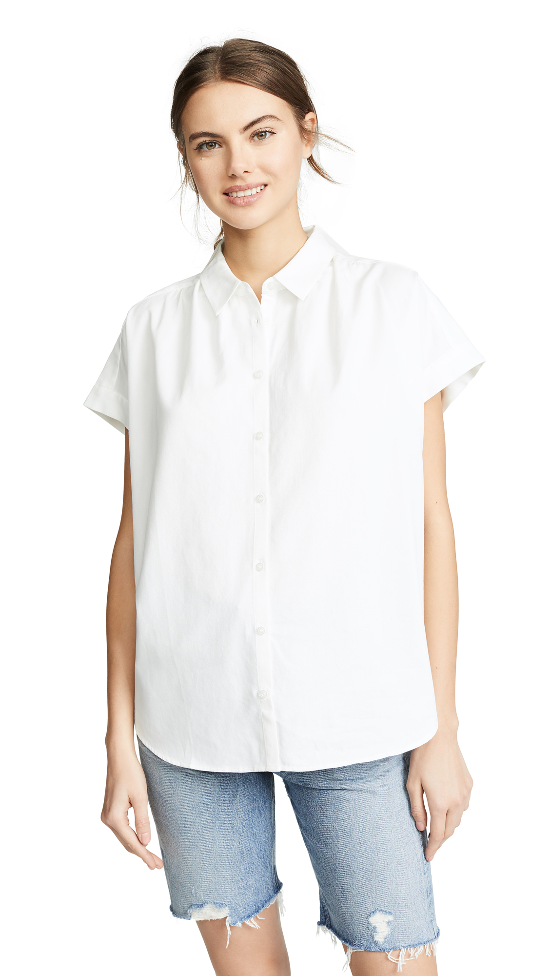 Madewell Central Shirt - Pure White