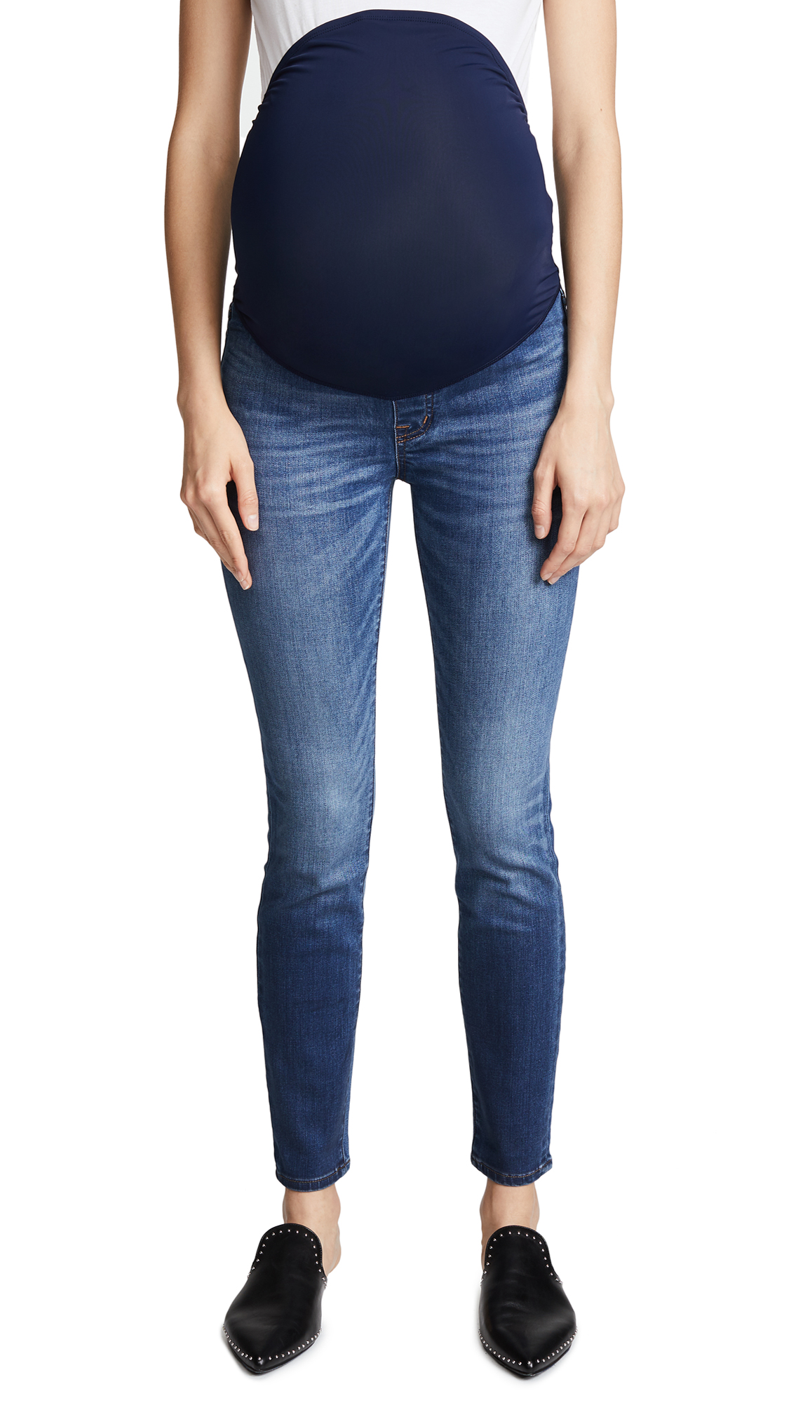 Buy Madewell online - photo of Madewell Maternity Over-the-Belly Skinny Jeans