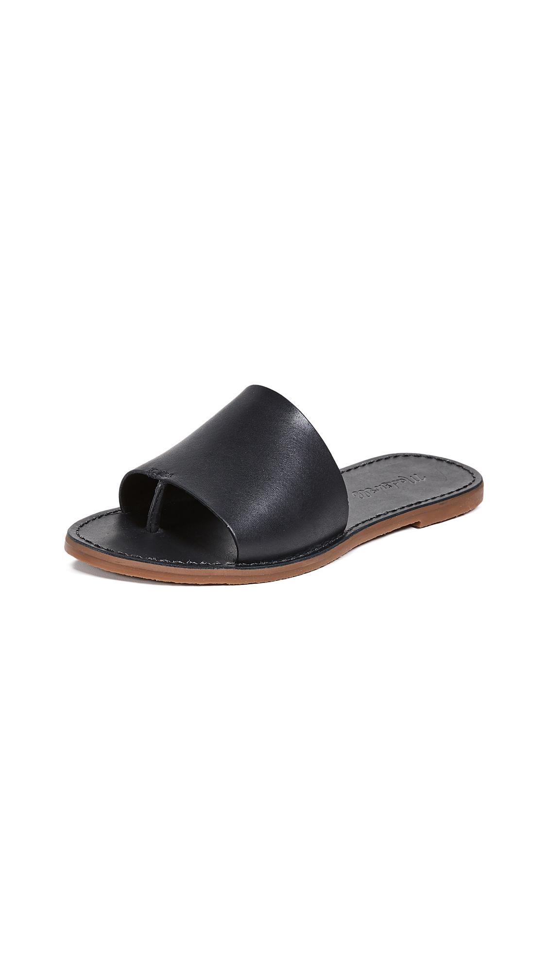 Buy Madewell The Boardwalk Post Slide Sandals online, shop Madewell
