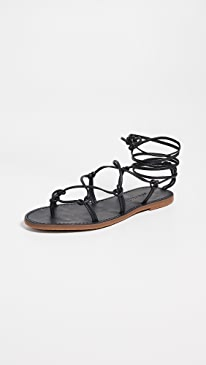 8888b7b621f8 Madewell. The Boardwalk Lace Up Sandals