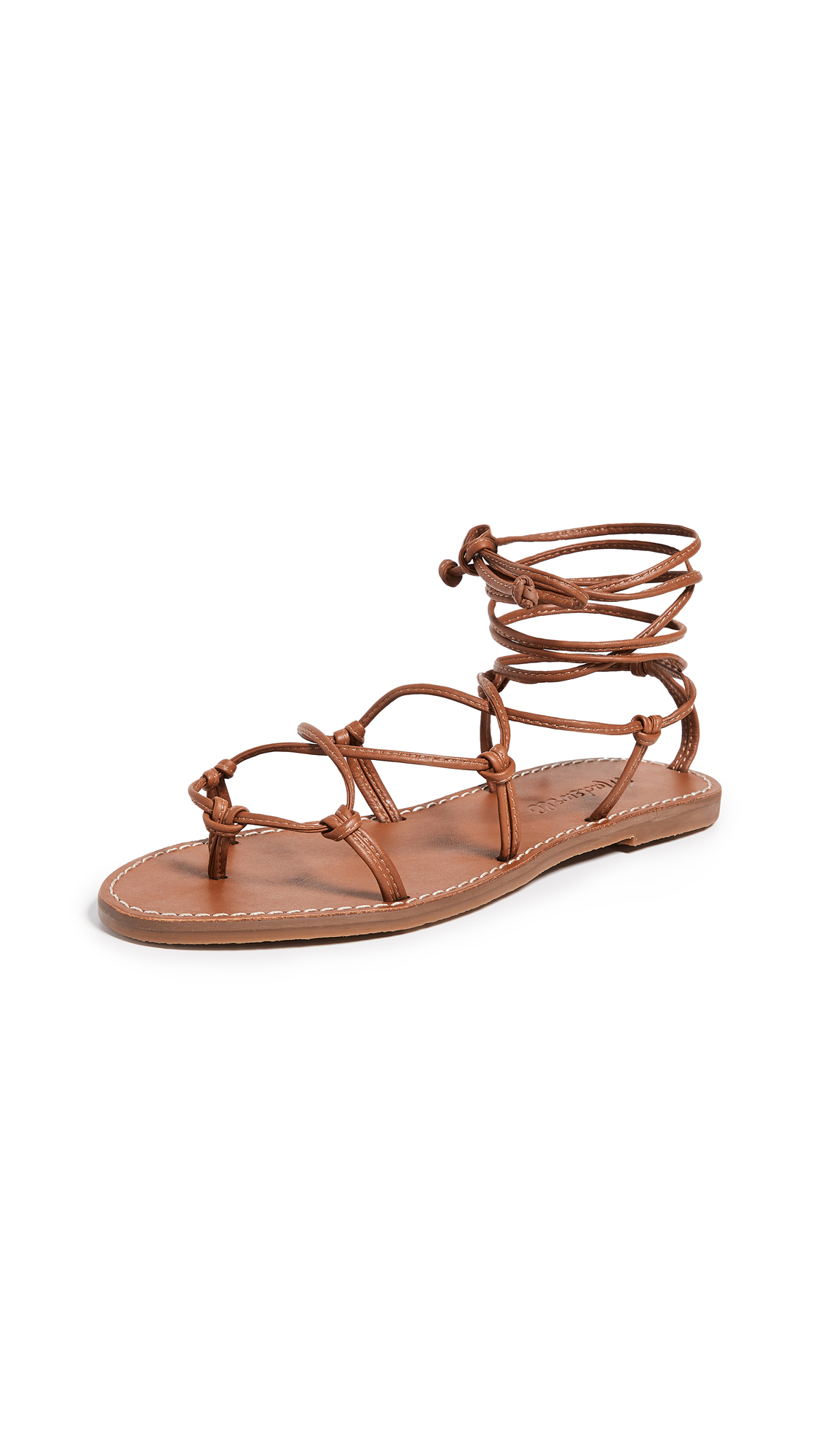 Buy Madewell The Boardwalk Lace Up Sandals online, shop Madewell