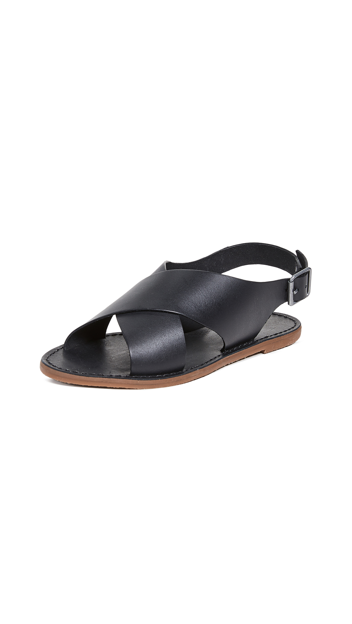 Buy Madewell online - photo of Madewell Boardwalk Crossover Sandals