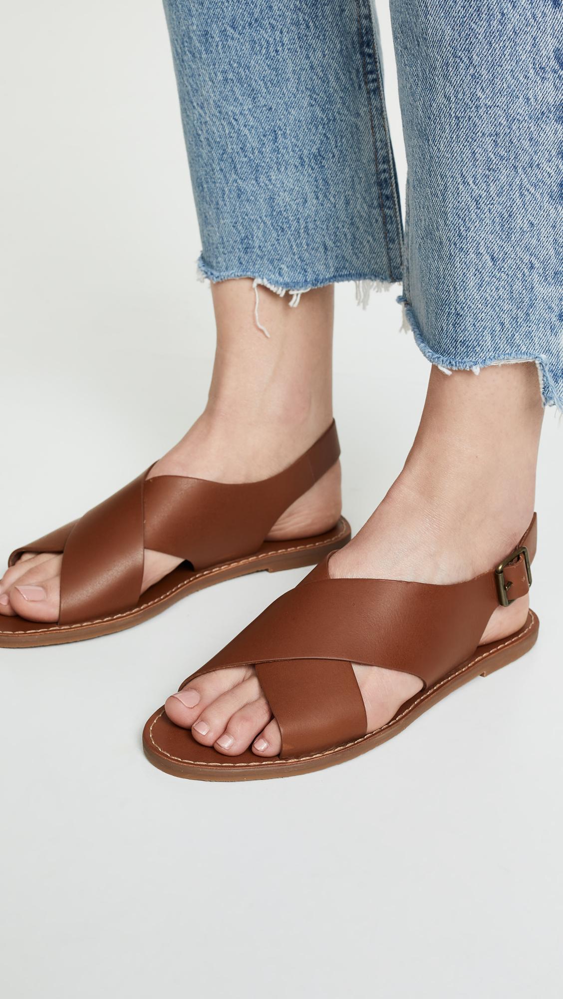056616a0897e Madewell Boardwalk Crossover Sandals | SHOPBOP