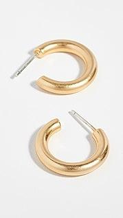 Madewell Объемные маленькие серьги-кольца