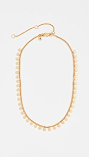Madewell Geo Chain Dot Necklace