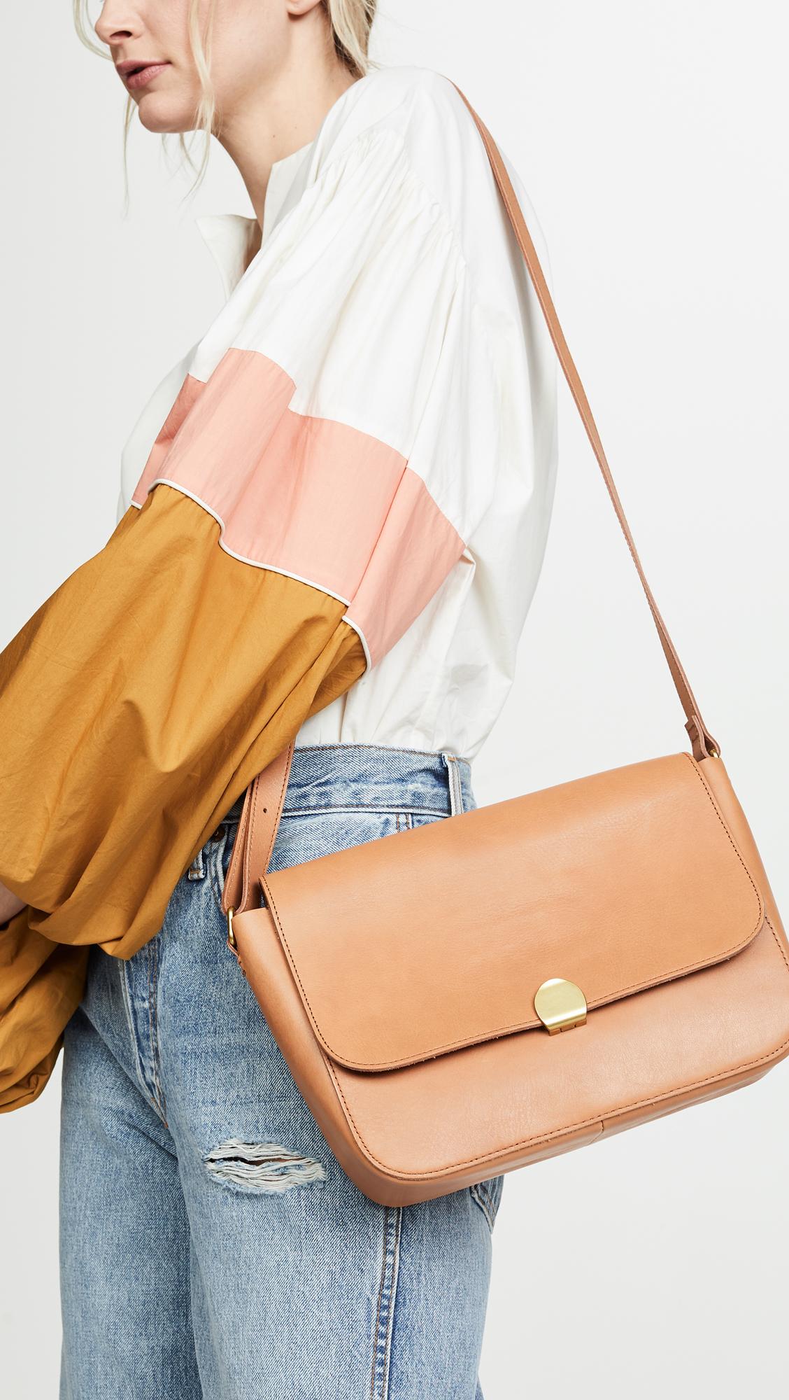 d5b0e8cd5 Madewell The Abroad Shoulder Bag