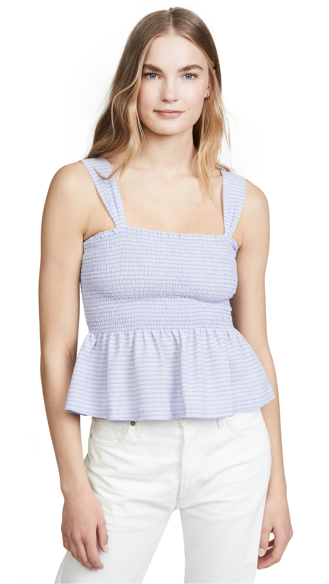 Buy Madewell online - photo of Madewell Dixie Smocked Tank