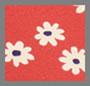 雏菊印花唇膏红
