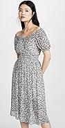 Madewell Smocked Waist Dress