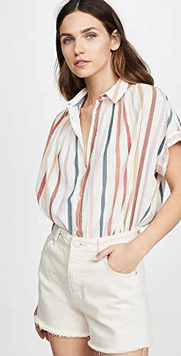 c7958dbb Madewell Central Button Down