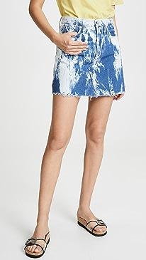 c772f3e335 Madewell. Tie Dye Denim Skirt