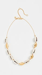 Madewell Cowrie Shell Choker Necklace