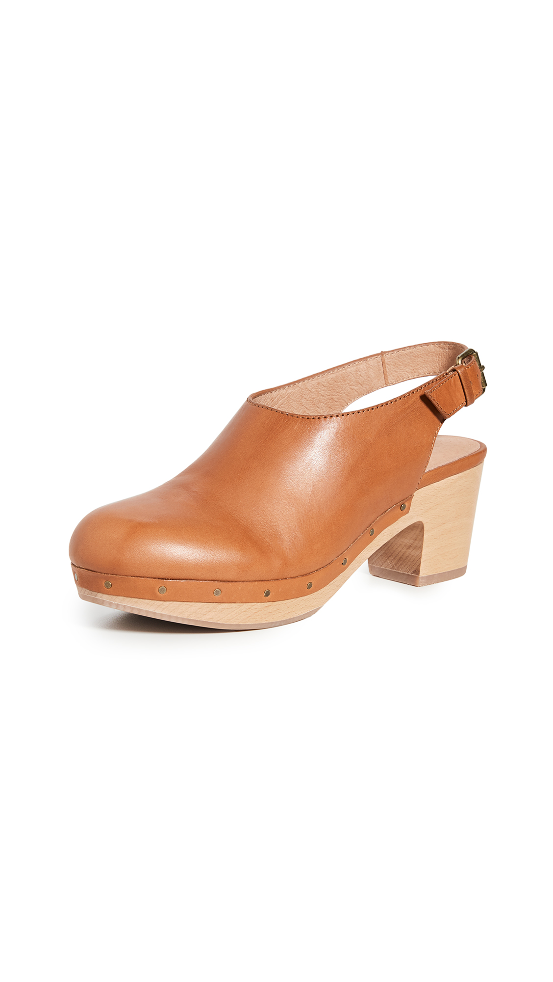 Buy Madewell online - photo of Madewell The Marlo Slingback Clogs