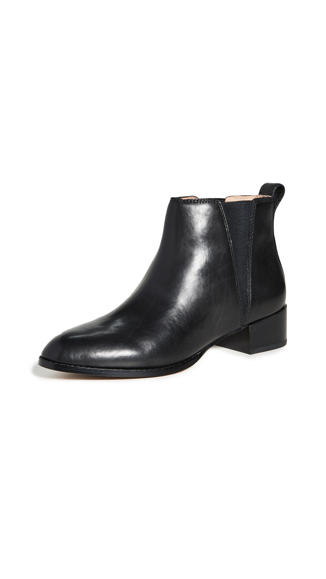 Madewell The Carina Block Heel Booties - 50% Off Sale