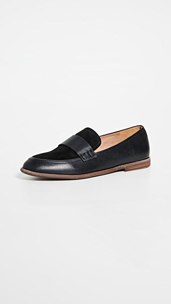 Madewell The Alex Loafer In True Black