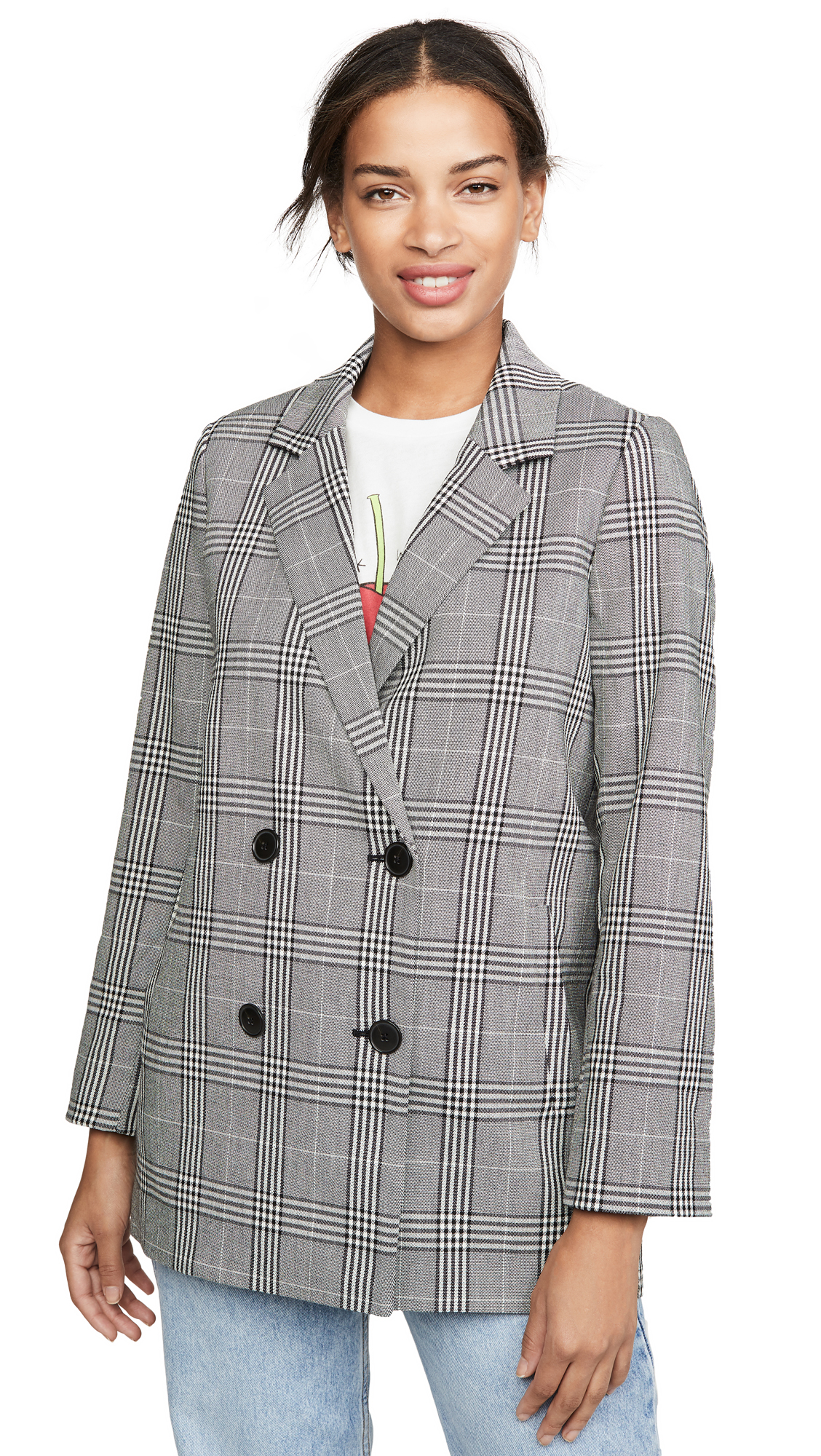 Buy Madewell online - photo of Madewell Caldwell Double Breasted Blazer