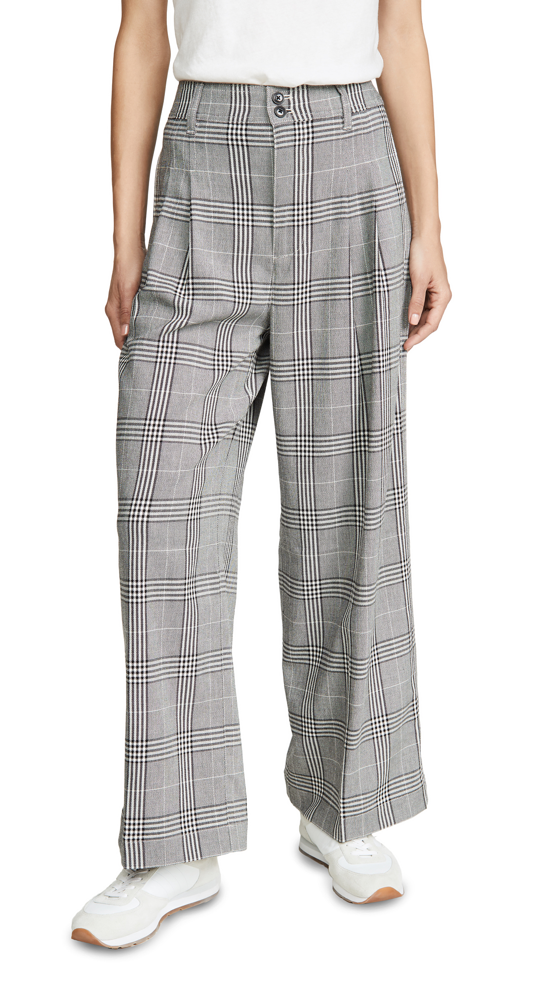 Buy Madewell online - photo of Madewell Pleated Wide Leg Crop Pants