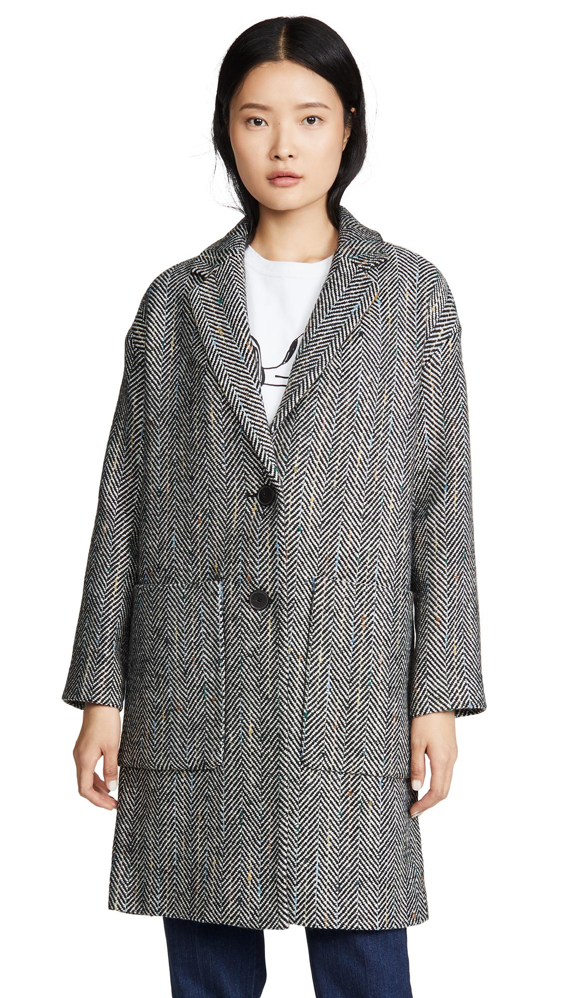 Buy Madewell Elmcourt Coat in Flecked Herringbone online beautiful Madewell Clothing, Jackets