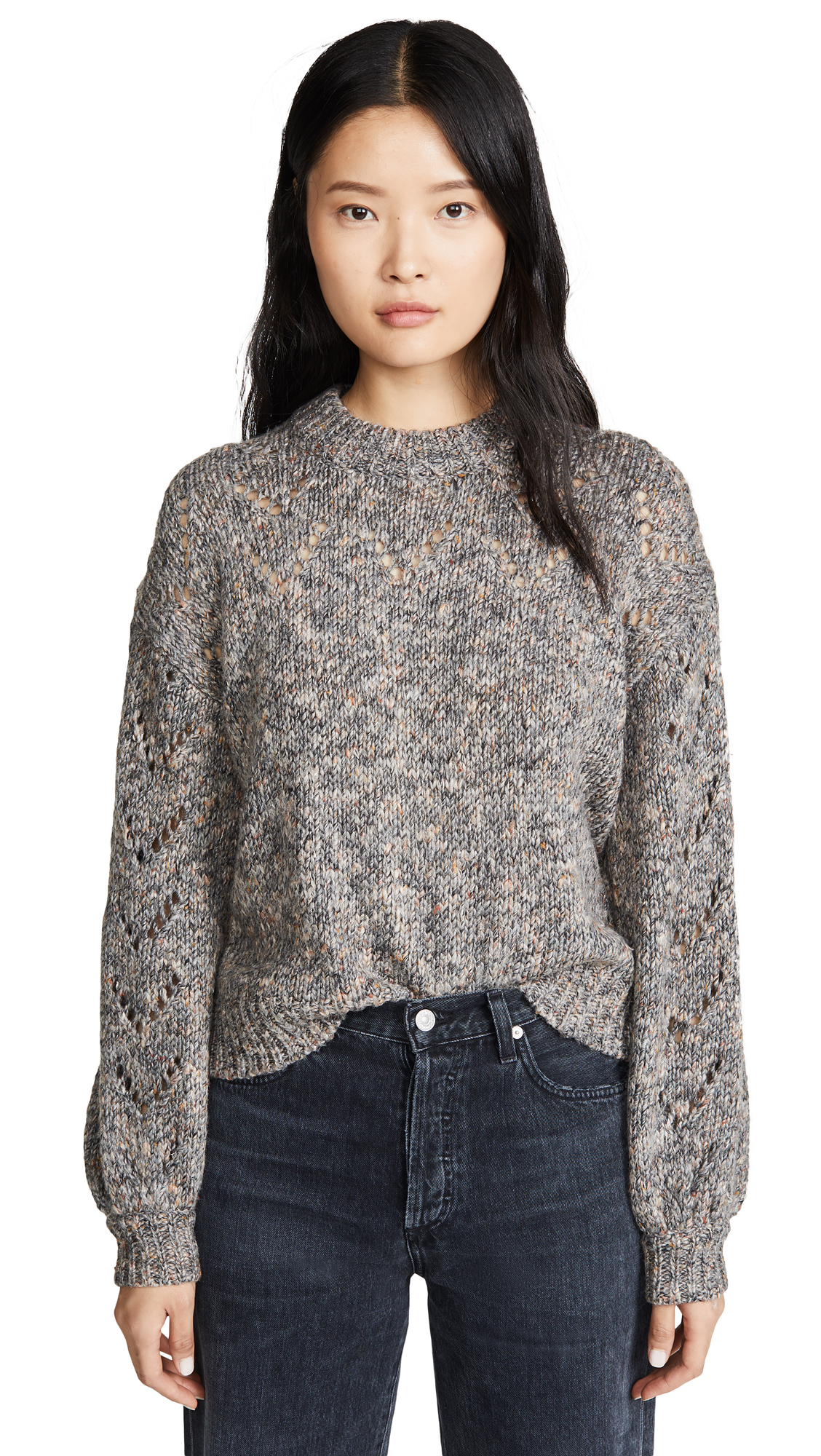 Buy Madewell online - photo of Madewell Redwood Pointelle Sweater