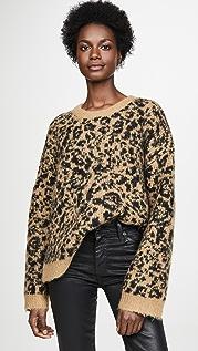 Madewell 豹纹毛衣
