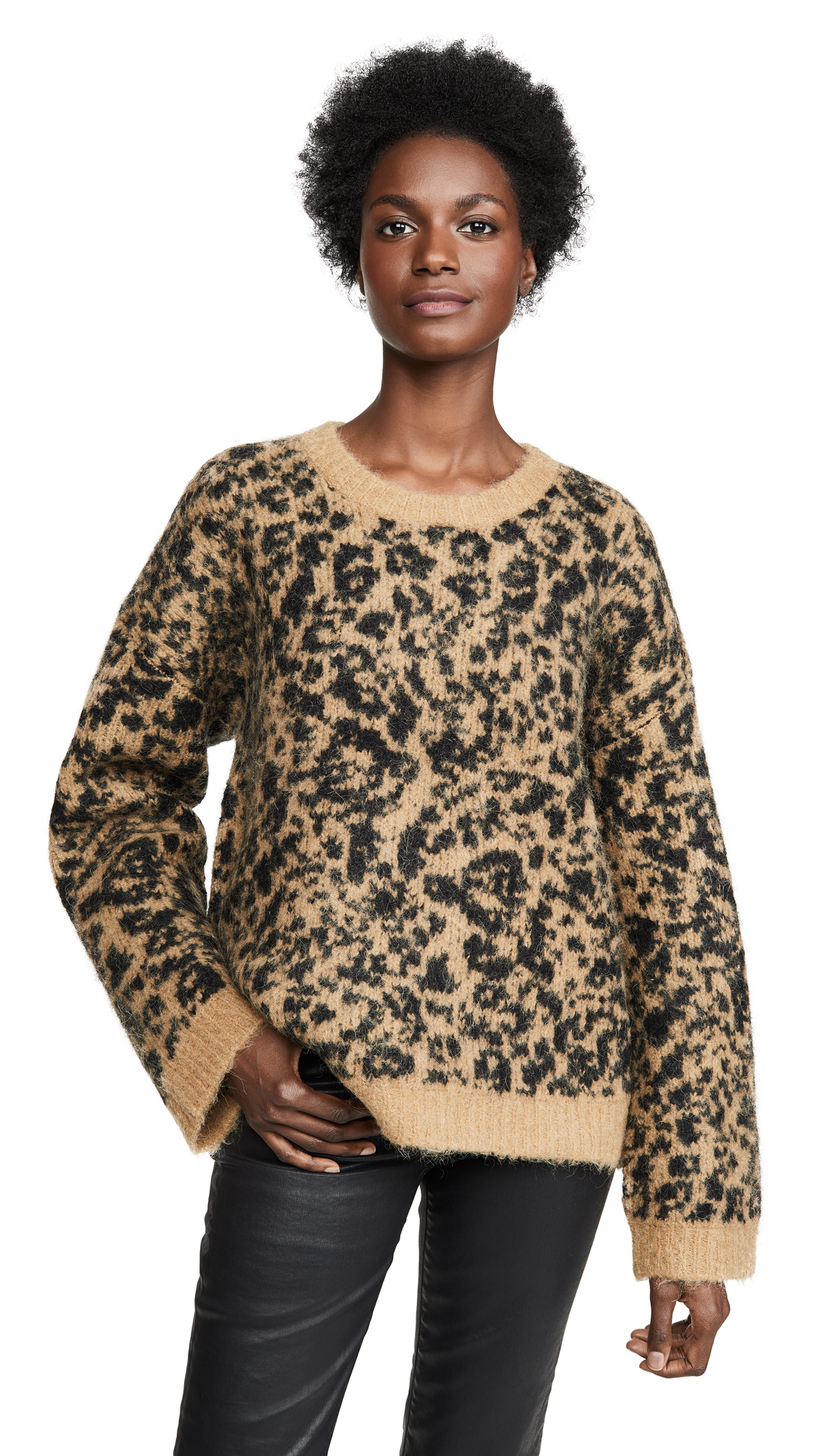 Buy Madewell online - photo of Madewell Leopard Sweater