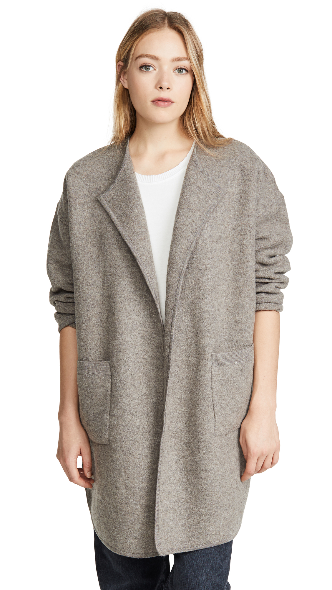 Buy Madewell online - photo of Madewell Ivy Long Sweater Coat