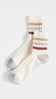 Madewell Ribbed Athletic Tube Socks
