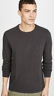 Madewell Bound Collar Long Sleeve T-Shirt