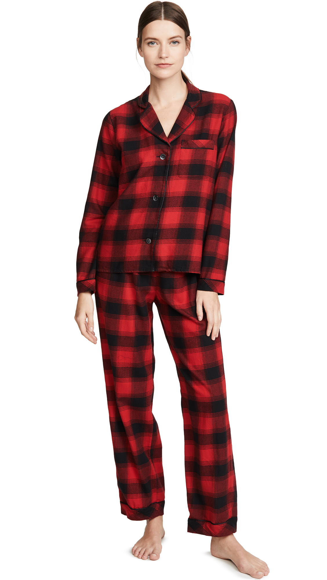 Buy Madewell online - photo of Madewell Flannel PJ Set