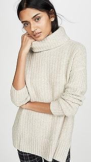 Madewell Рубчатый свитер Kate с воротником под горло