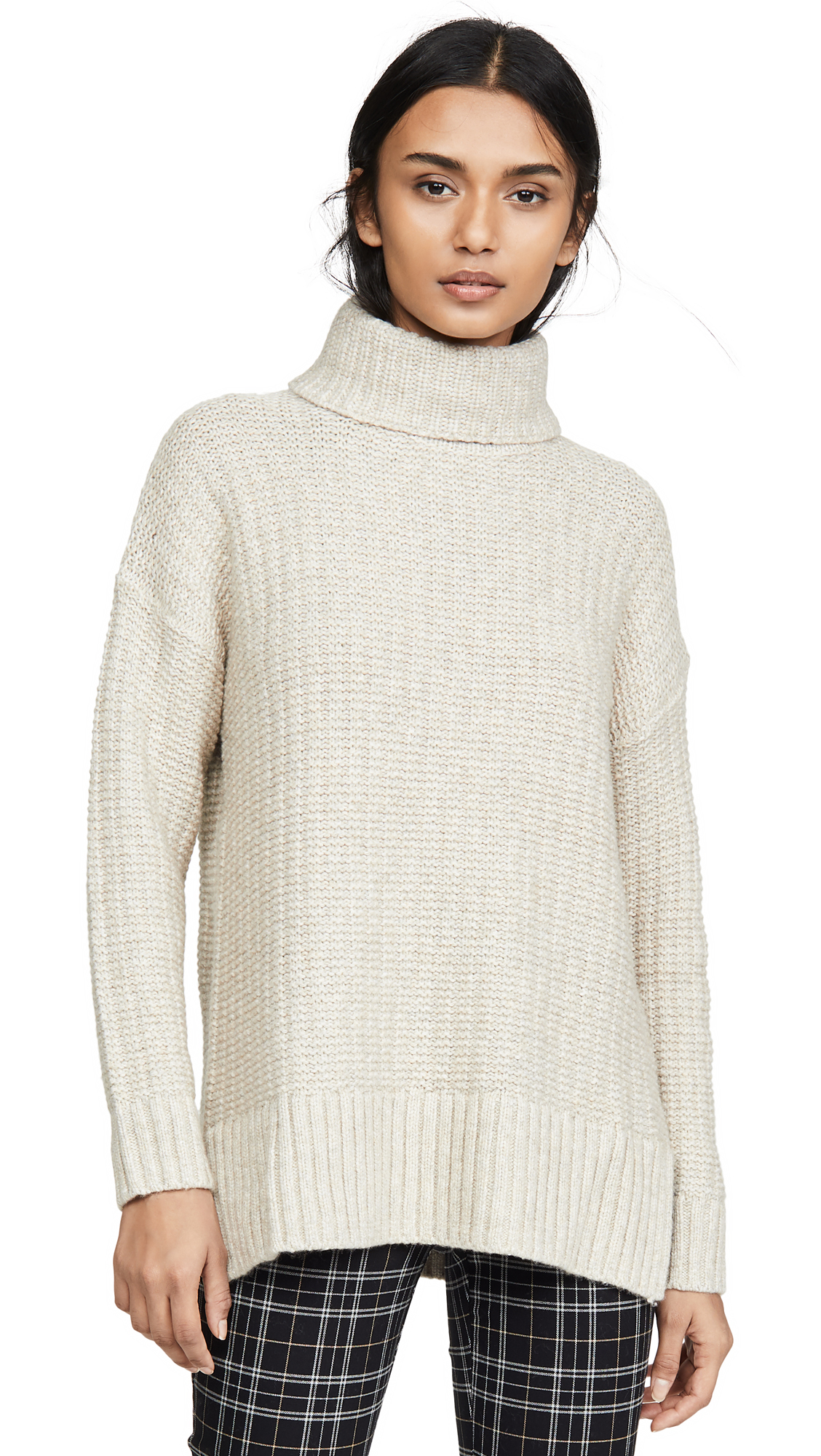 Buy Madewell online - photo of Madewell Kate Ribbed Turtleneck Sweater