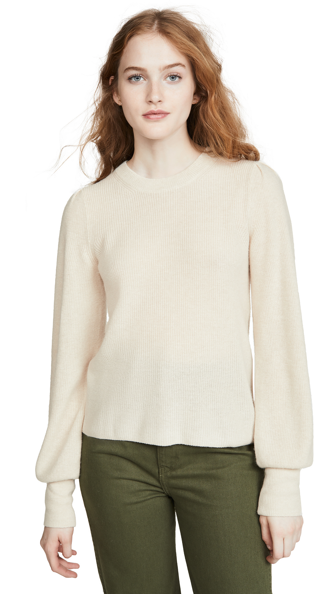 Buy Madewell online - photo of Madewell Nanhi Wide Cuff Puff Sweater