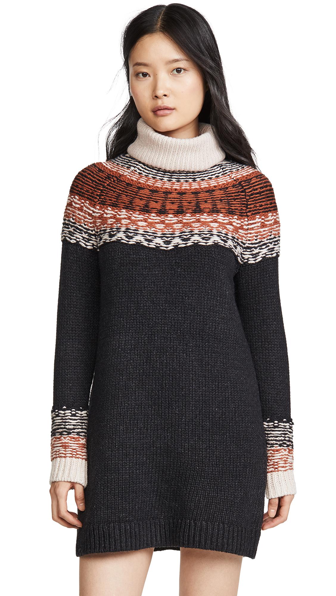 Buy Madewell Fair Isle Turtleneck Sweater Dress online beautiful Madewell Clothing, Dresses
