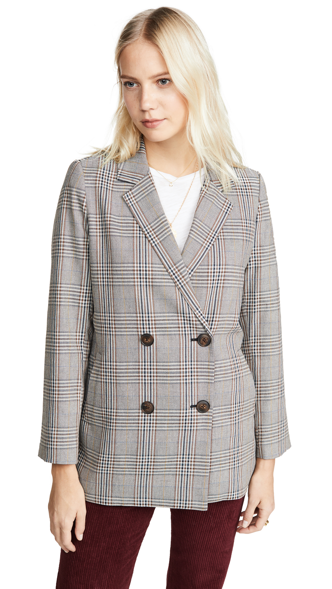Buy Madewell online - photo of Madewell Plaid Blazer