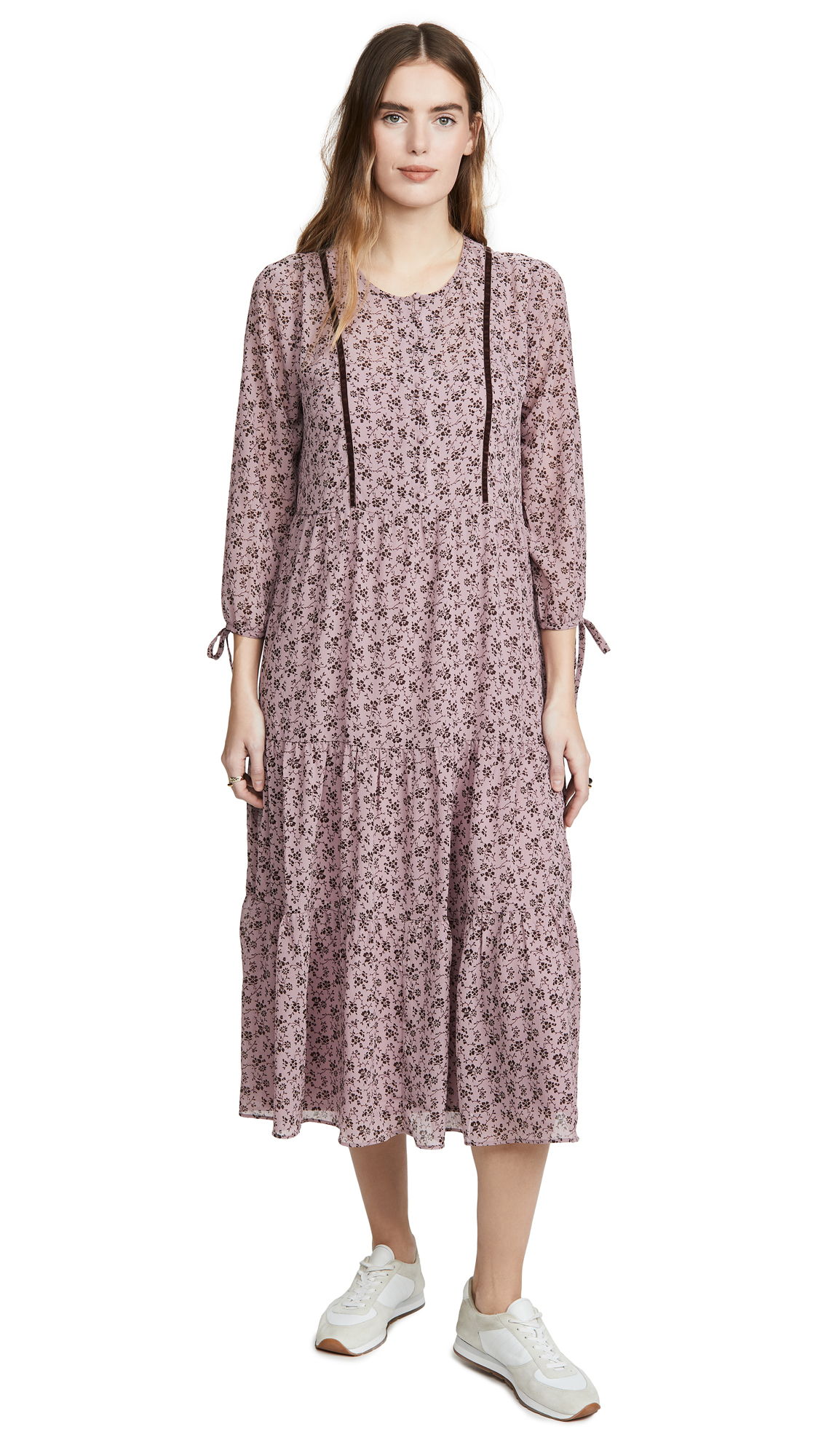 Madewell Tiered Midi Dress - 30% Off Sale