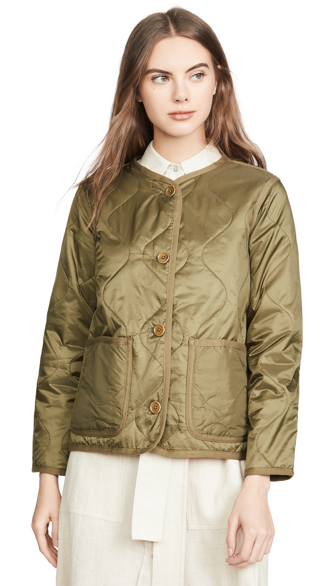Buy Madewell online - photo of Madewell Quilted Liner Jacket
