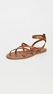 Madewell Boardwalk Skinny Strap Sandals