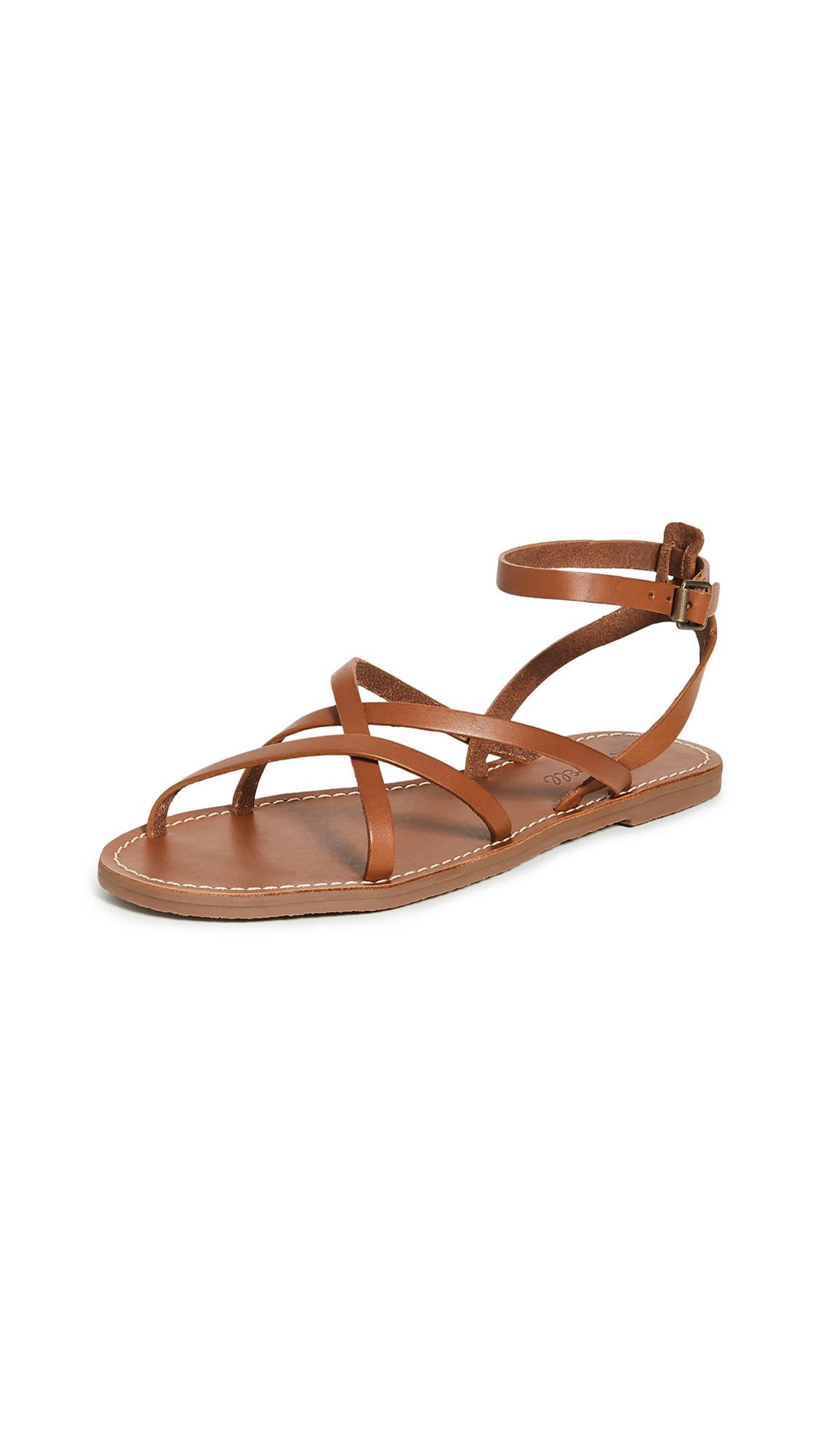 Buy Madewell Boardwalk Skinny Strap Sandals online, shop Madewell