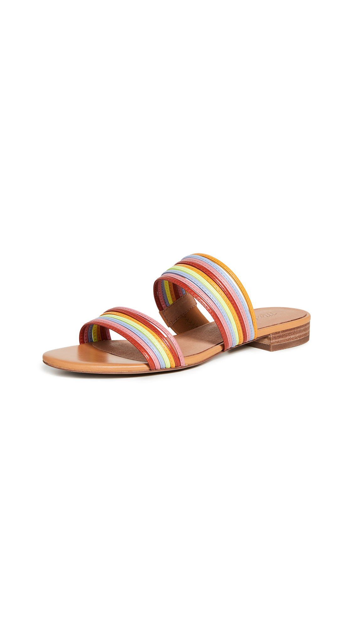Buy Madewell The Meg Slide Sandals online, shop Madewell