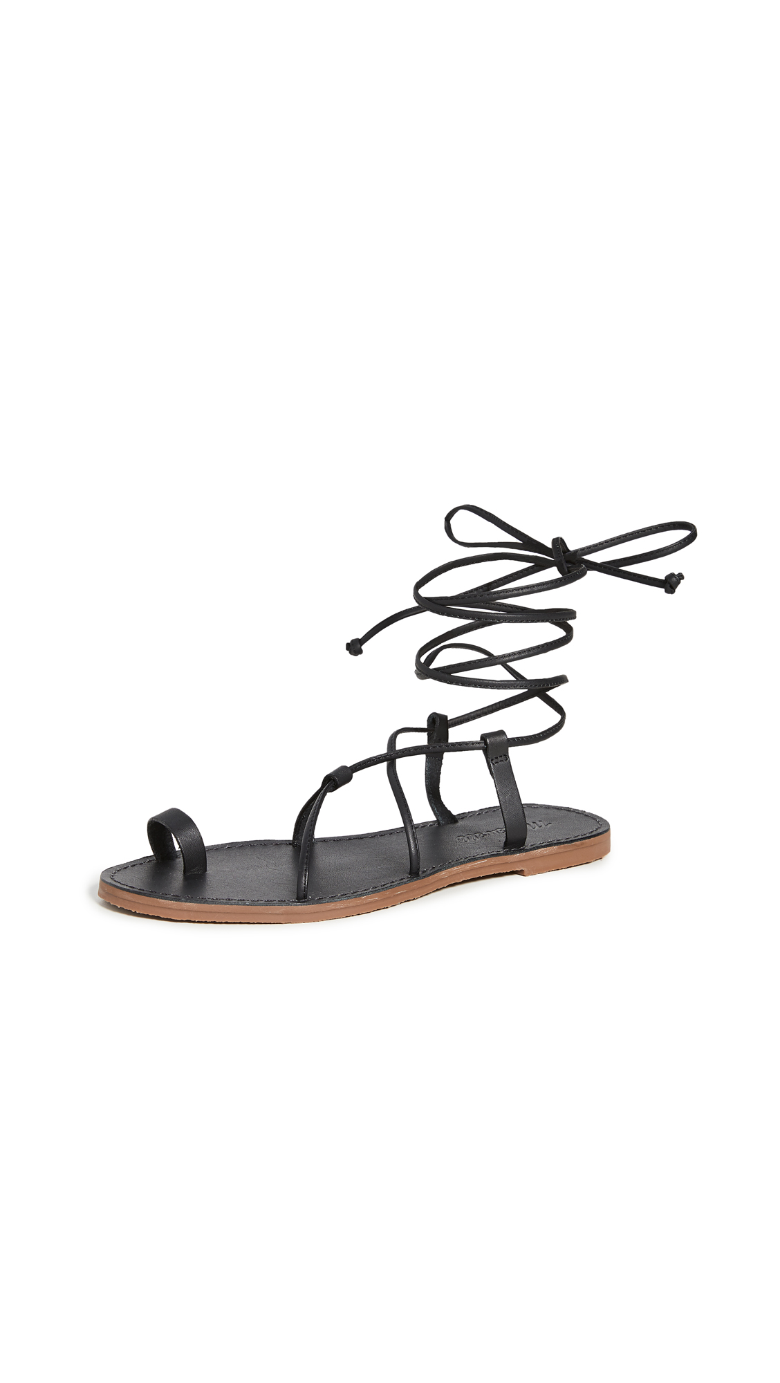 Buy Madewell Ronda Boardwalk Lace Up Sandals online, shop Madewell