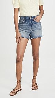 Madewell The Perfect 牛仔短裤