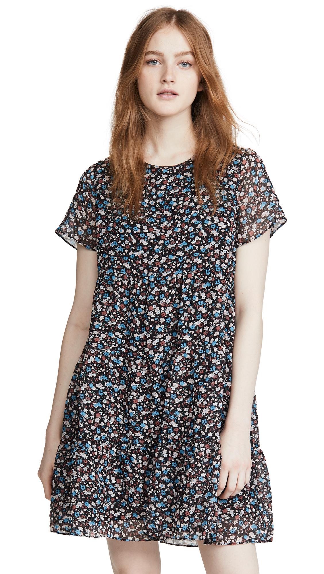 Madewell Tiered Mini Dress - 50% Off Sale