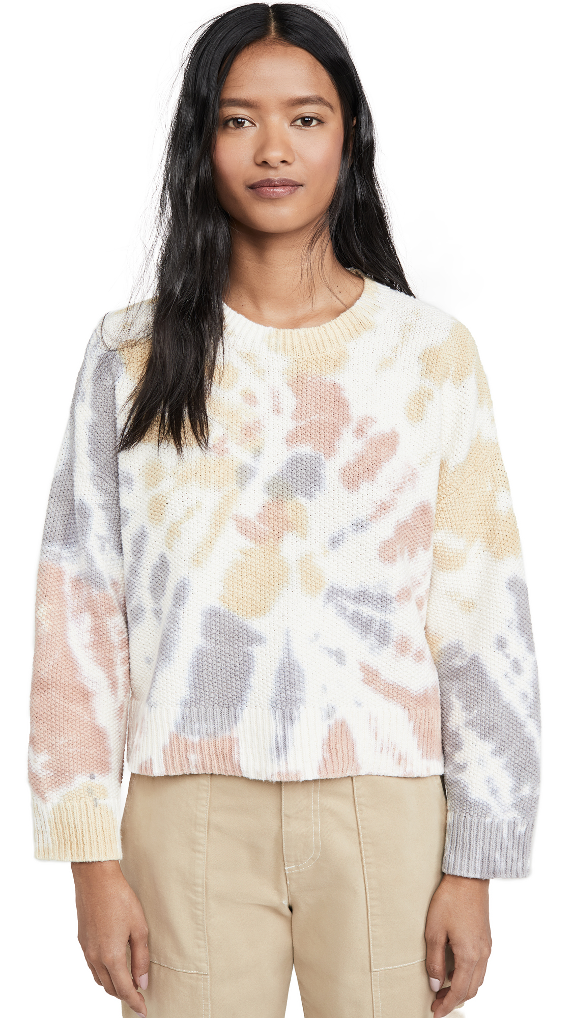 Buy Madewell online - photo of Madewell Tie Dye Westford Pullover Sweater