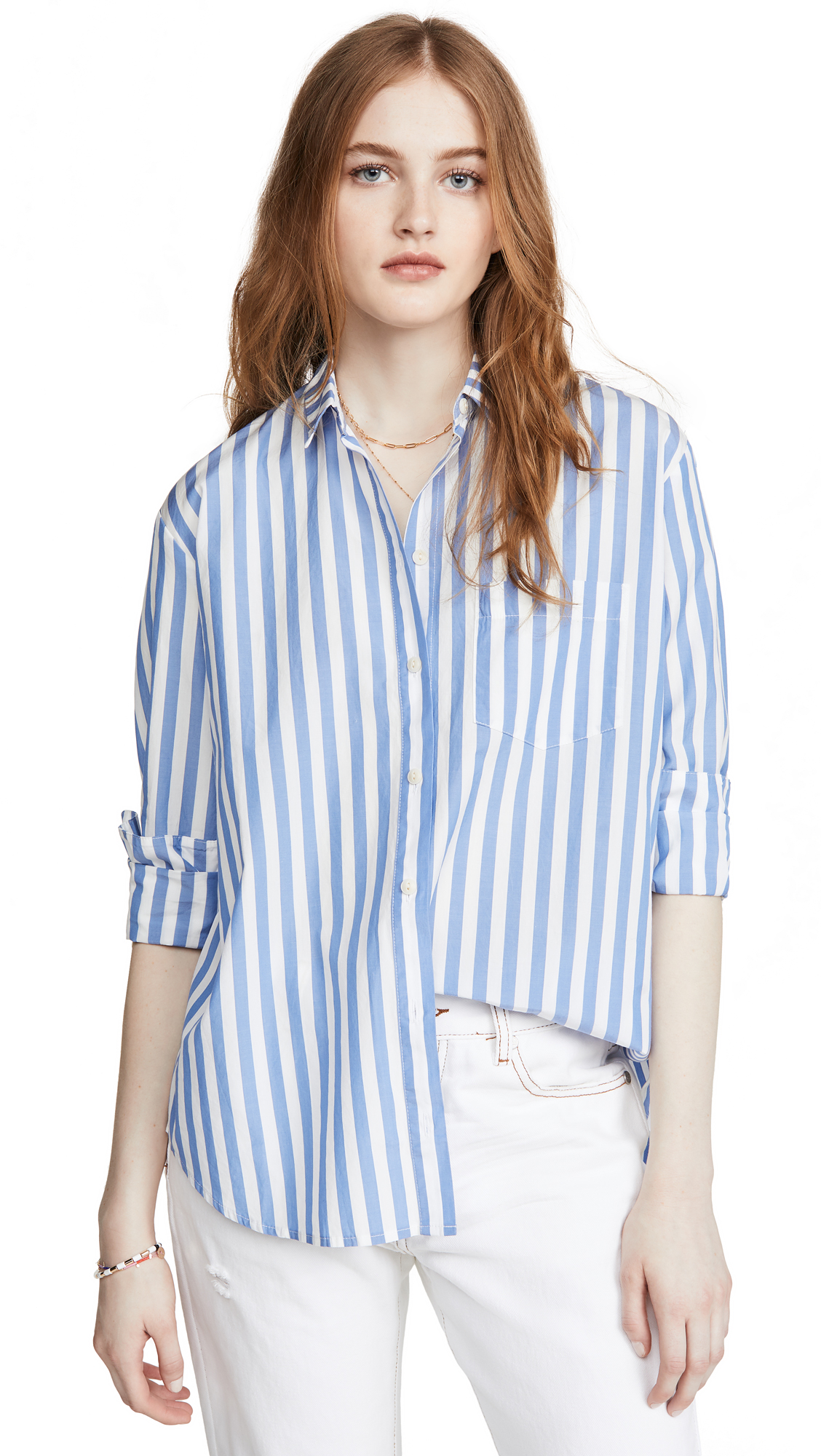 Buy Madewell online - photo of Madewell Oversized Ex Boyfriend Shirt