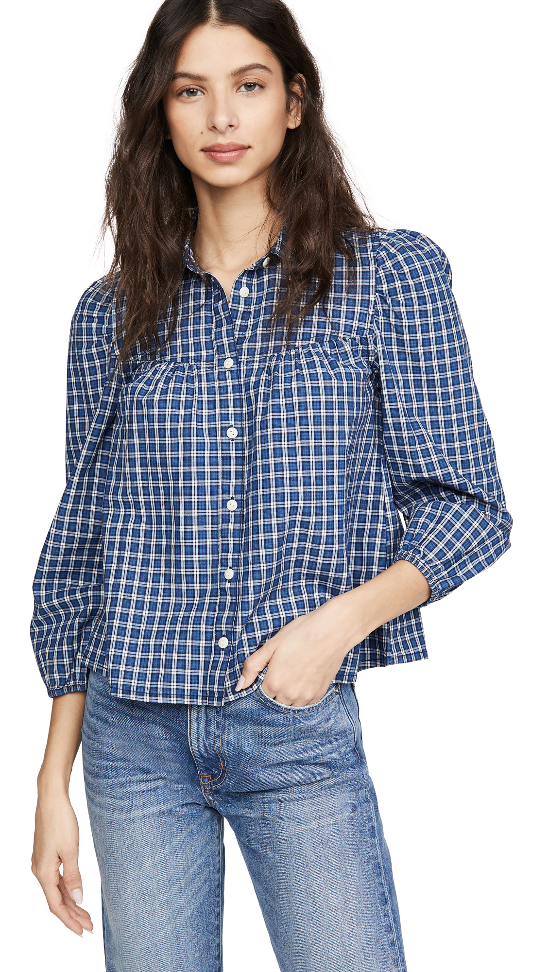 Madewell Western Long Sleeve Button Down - 30% Off Sale