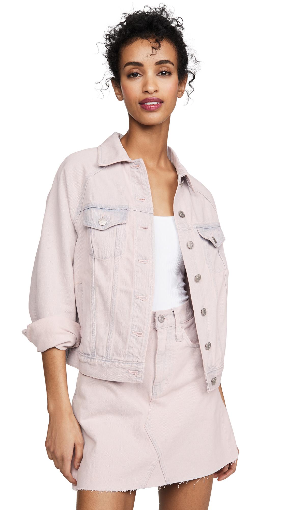 Buy Madewell Raglan Oversized Jean Jacket online beautiful Madewell Clothing, Jackets