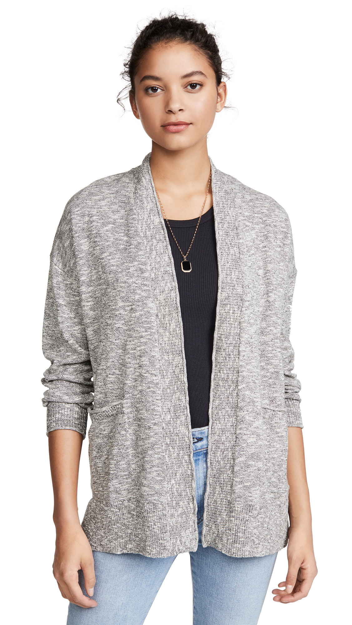 Buy Madewell online - photo of Madewell Marled Bradley Cardigan Sweater