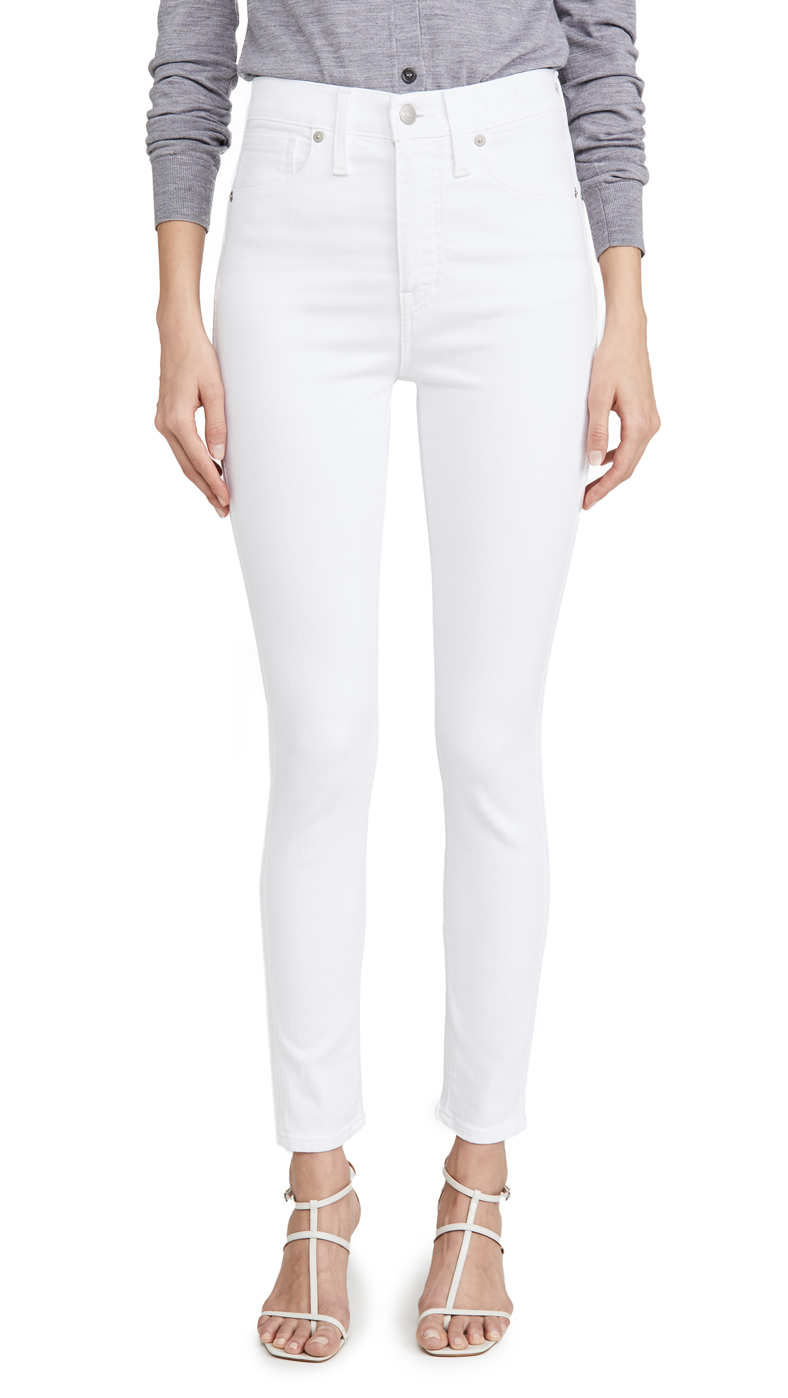 """Buy Madewell online - photo of Madewell 10"""" High Rise Skinny Jeans"""