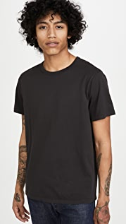 Madewell 20's Short Sleeve Bound Collar Tee